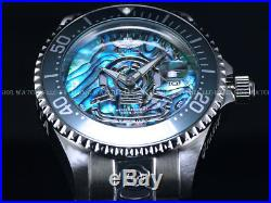 New Invicta Men's 300M Ltd. Ed. Grand Diver Automatic MOP Abalone Dial SS Watch
