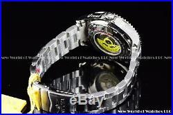 New Invicta Men's 47mm Grand Diver Automatic Green Bezel Silver Case SS Watch