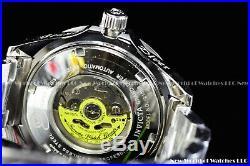 New Invicta Men's 47mm Grand Diver Automatic Green Black Bezel Silver SS Watch