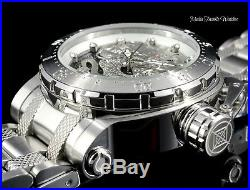 New Invicta Men's 52mm Coalition Forces Dragon AUTOMATIC Silver Bracelet Watch