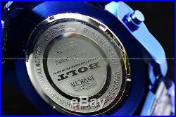 New Invicta Men's 53mm Bolt Triple Blue with Gold Ring Chronograph Quartz Watch