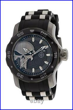 New Invicta Men's Marvel The Punisher 34744 Limited Edition 48MM Case Watch