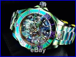 New Invicta Mens 300M Grand Diver Automatic MOP Abalone Dial Iridescent SS Watch