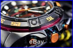 New Invicta Mens 52mm Star Wars Limited Edition Black BOBA Fett Chrono Watch