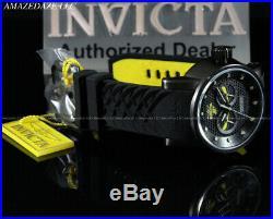 New Invicta Ninja Men's S1 Rally Quartz Stainless Steel Silicone Strap Watch