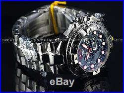 New Invicta Reserve 50mm Mens Swiss Chrongraph Grey MOP High Polished SS Watch