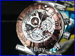 New Invicta Reserve Men 47mm LE SAN I Swiss Made Chronograph Skeleton 500M Watch