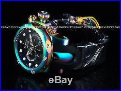 New Invicta Reserve Mens Venom Iridescent Swiss Quartz Chronograph Black Watch
