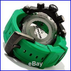 New Mens Invicta 11156 Reserve Venom Swiss Chronograph Green Rubber Watch