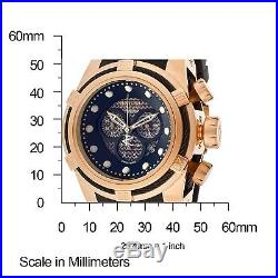 New Mens Invicta 12667 Bolt Reserve Chronograph Black Rubber Strap Watch
