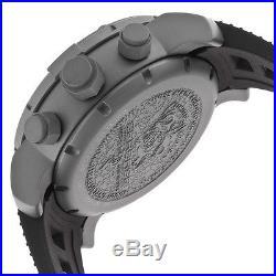 New Mens Invicta 14244 Sea Base Swiss Chronograph Titanium Rubber Strap Watch