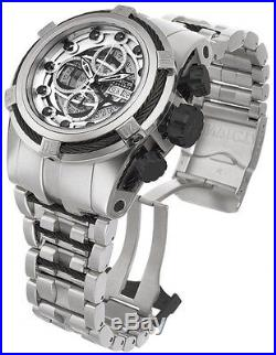 New Mens Invicta 14306 Bolt Zeus Reserve Swiss Automatic Stainless Steel Watch
