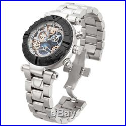 New Mens Invicta 15614 Subaqua Analog Display Swiss Quartz Silver Watch