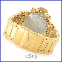 New Mens Invicta 17617 Subaqua Analog Display Swiss Quartz Gold Watch