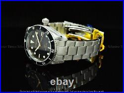 RARE Invicta Men 40mm Pro Diver 1953's Homage Automatic NH35 Black Dial SS Watch