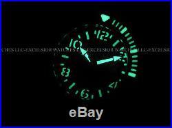 RARE Invicta Mens Combat Sea Hunter Swiss Made Automatic All Black SS 300M Watch