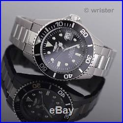 TITANIUM Invicta Pro Diver AUTOMATIC NH35A 24 Jewels Black Dial $795 Mens Watch